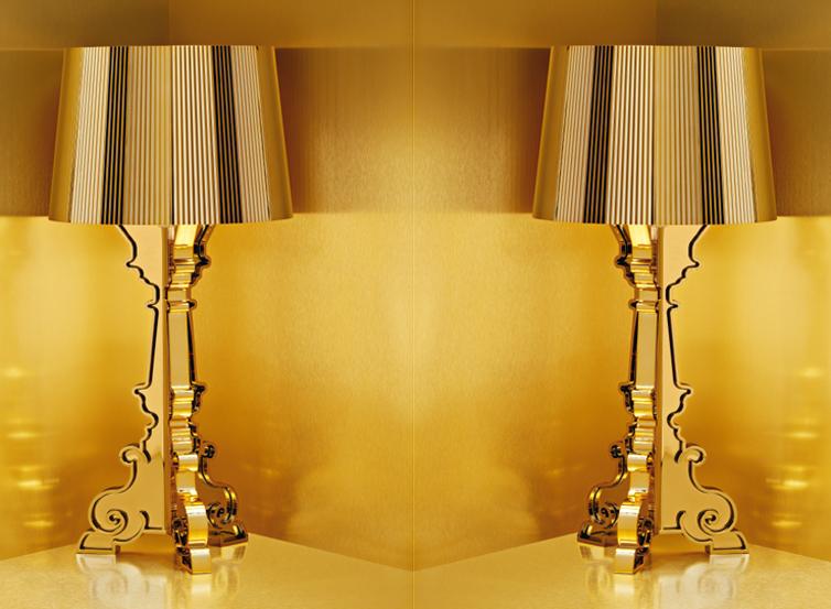 Kartell Bourgie Gold Raumpunkt