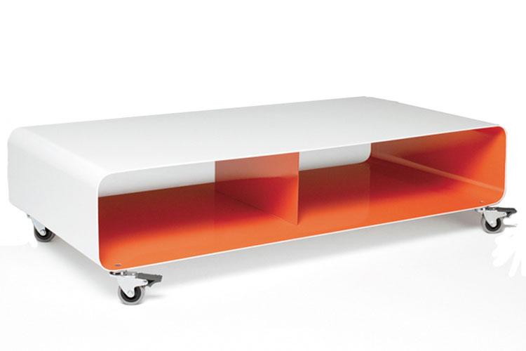 rund mit rollen trendy couchtisch glas edelstahl titus moderner prometheus aus rund quadratisch. Black Bedroom Furniture Sets. Home Design Ideas